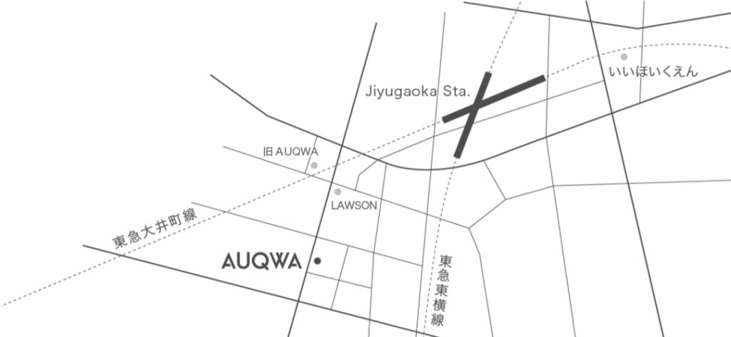 AUQWAの地図